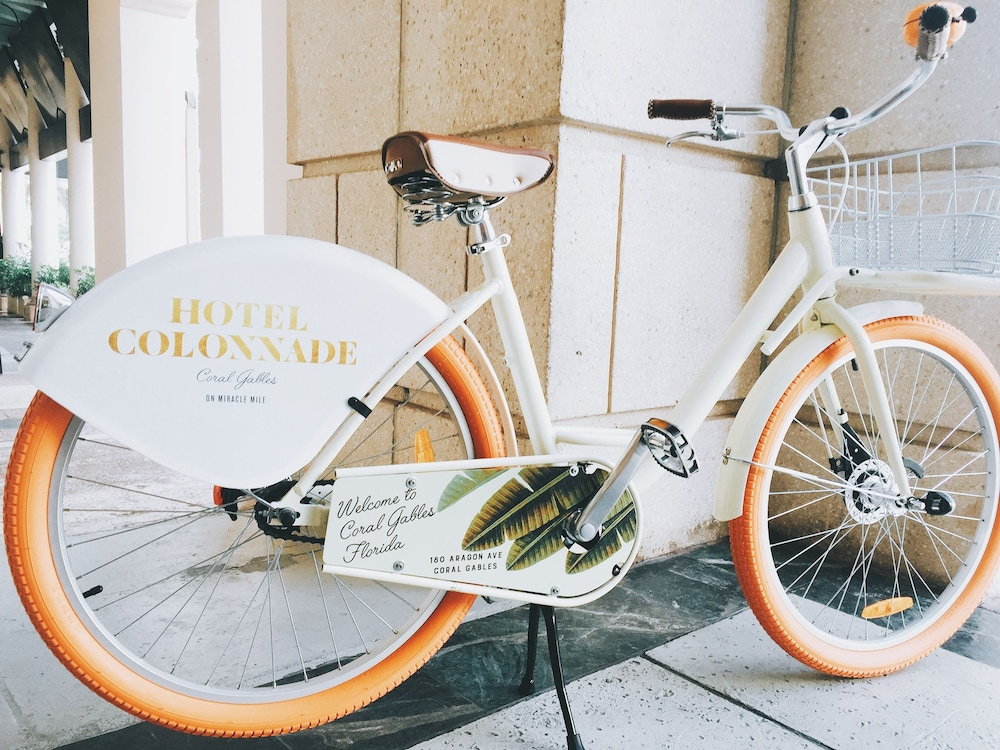 Bicycling, Hotel Colonnade Coral Gables, Autograph Collection