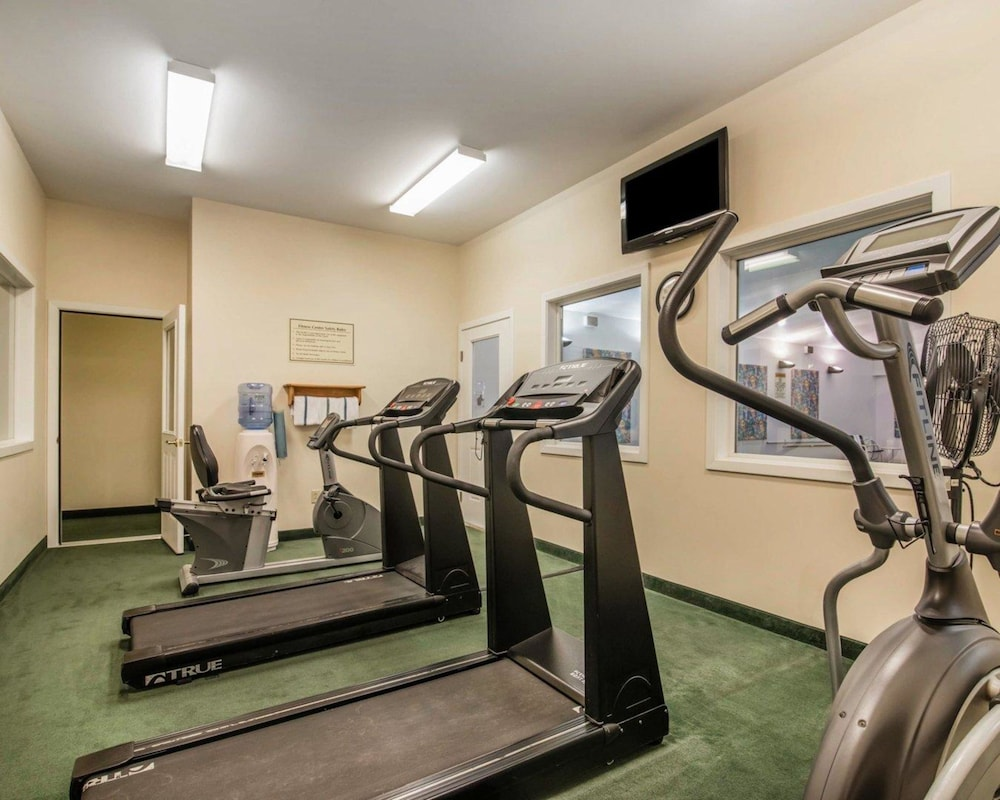 Fitness Facility, Quality Inn At Quechee Gorge