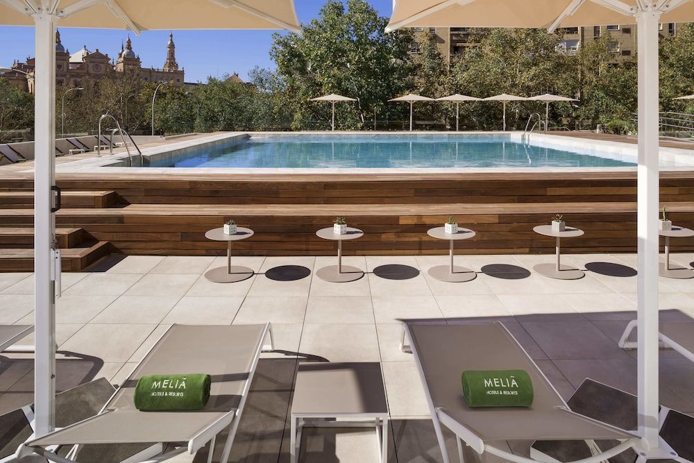 Outdoor Pool, Melia Sevilla