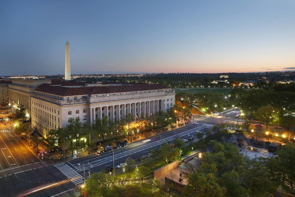 View from Room, JW Marriott Washington DC