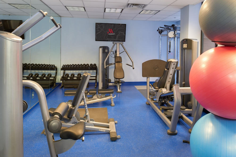 Fitness Facility, Chicago Marriott Suites O'Hare