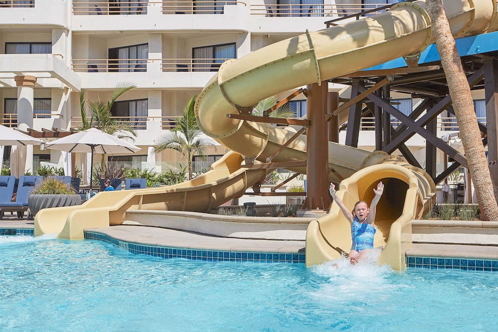 Waterslide, The Waterfront Beach Resort, A Hilton Hotel