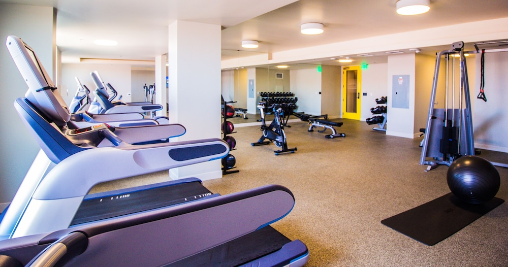 Fitness Facility, The Waterfront Beach Resort, A Hilton Hotel