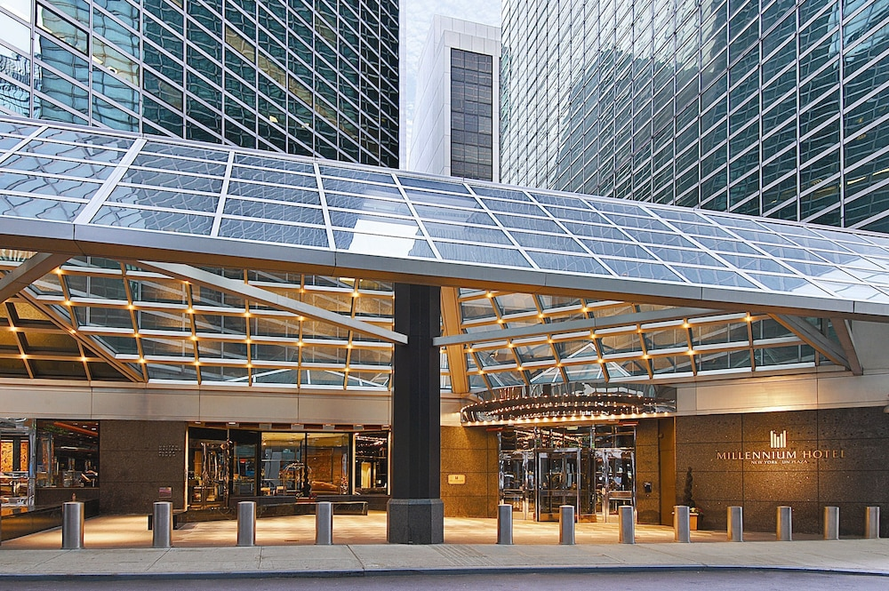 Property Entrance, Millennium Hilton New York One UN Plaza