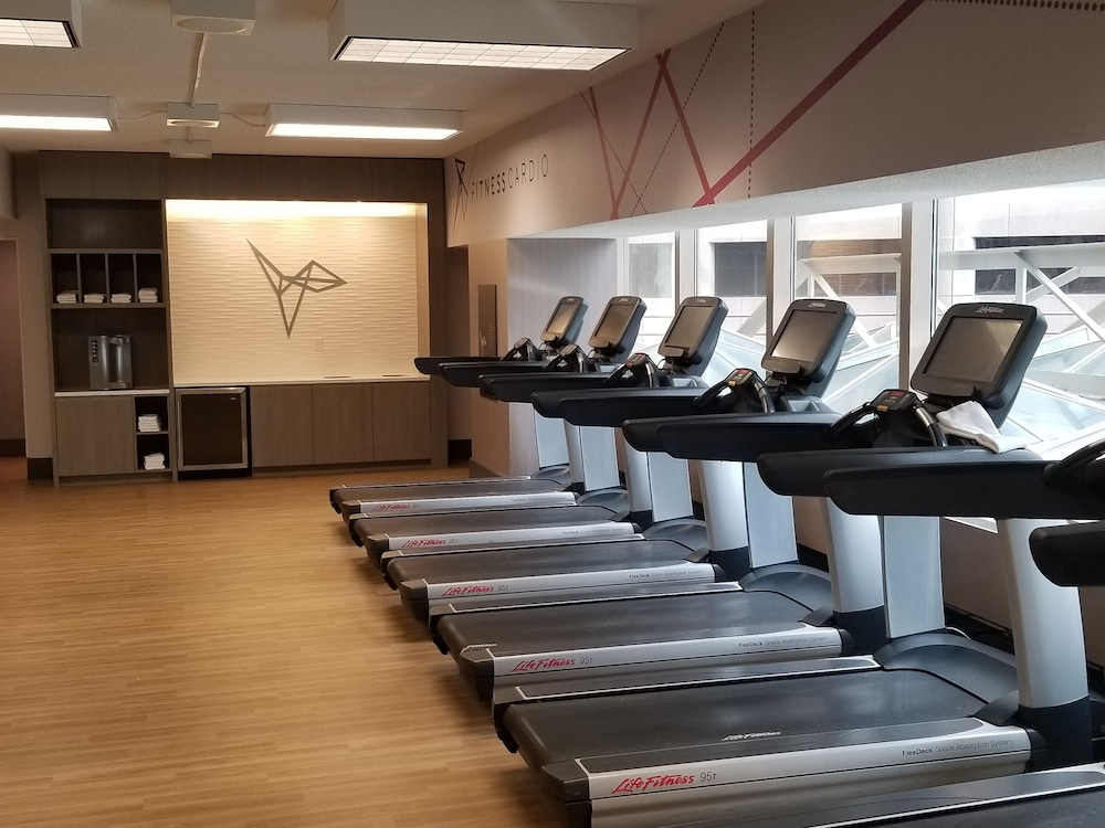 Fitness Facility, Minneapolis Marriott City Center