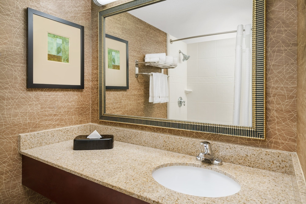 Bathroom, Holiday Inn Express Brockton - Boston, an IHG Hotel