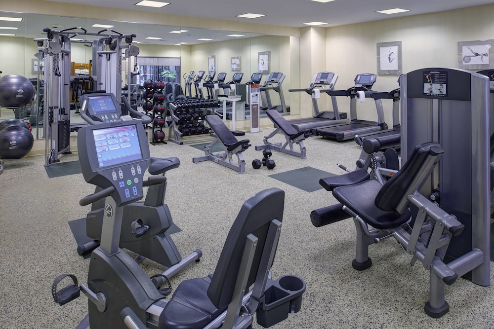 Fitness Facility, Marriott East Lansing at University Place