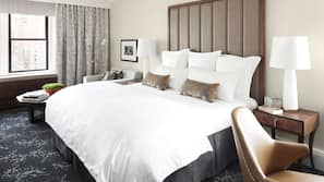 Premium bedding, pillowtop beds, minibar, in-room safe