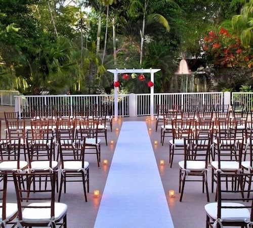 Outdoor Wedding Area, Bonaventure Resort and Spa
