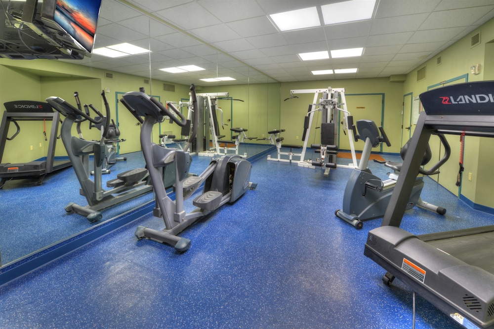 Fitness Facility, Best Western Aku Tiki Inn