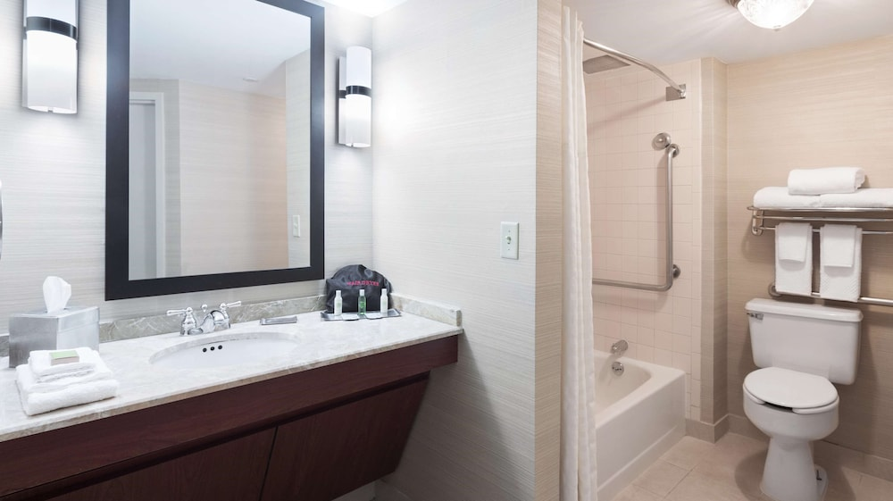 Bathroom, DoubleTree Suites by Hilton Cincinnati - Blue Ash