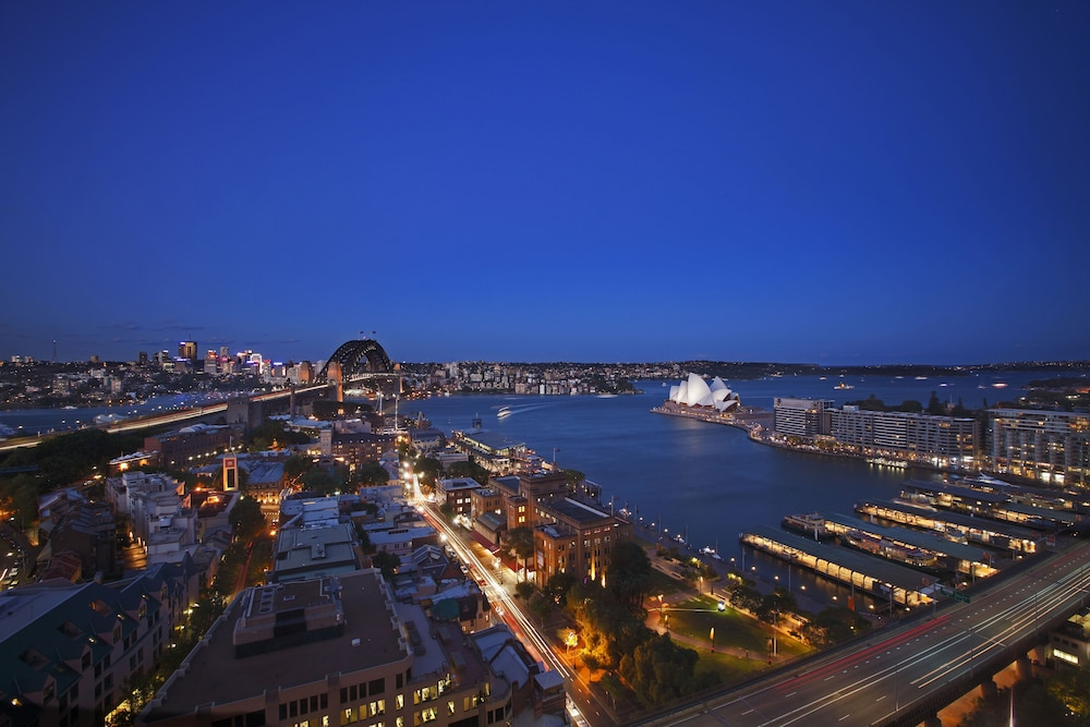 View from Room, Four Seasons Hotel Sydney
