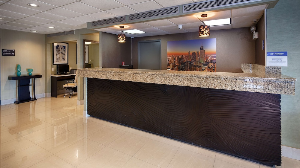 Reception, Best Western O'Hare/Elk Grove Hotel