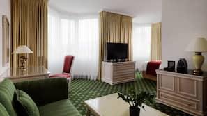Minibar, desk, blackout curtains, soundproofing