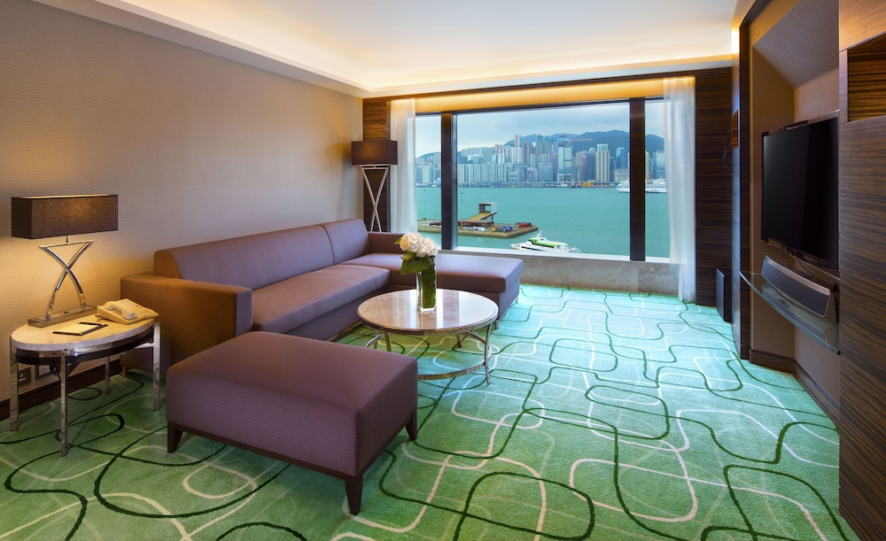 Living Area, New World Millennium Hong Kong Hotel