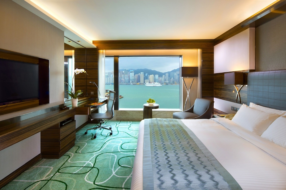 View from Room, New World Millennium Hong Kong Hotel