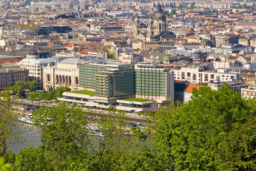 Aerial View, Budapest Marriott Hotel