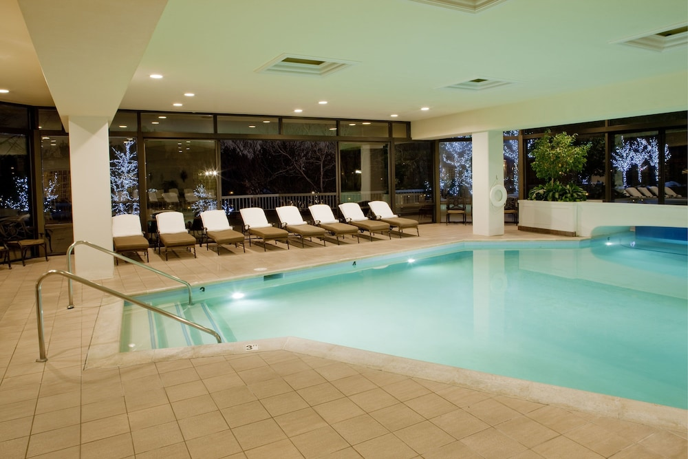 Indoor Pool, Little America Hotel
