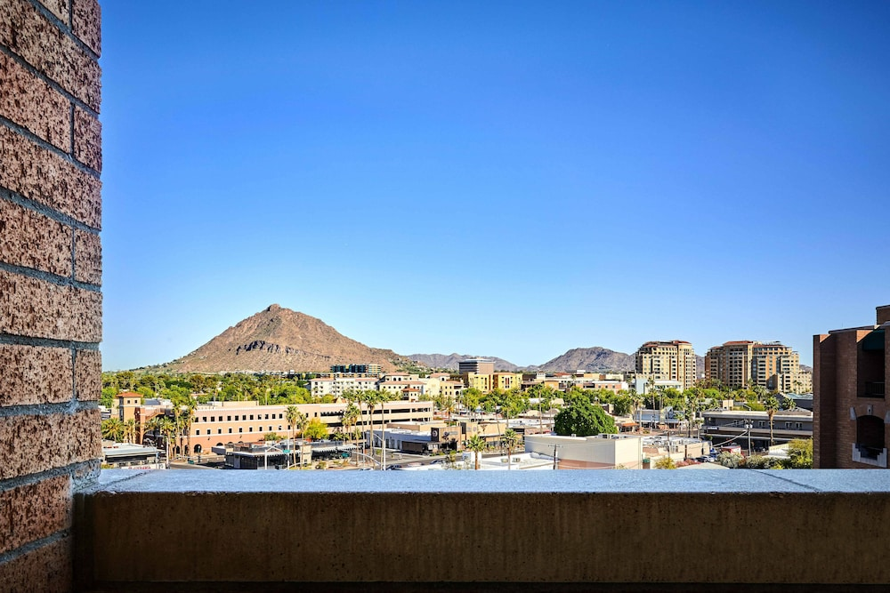 View from Room, Scottsdale Marriott Old Town