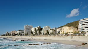 ใกล้ชายหาด, ทรายสีขาว
