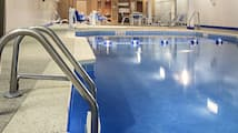 Indoor pool, open 6:00 AM to 10 PM, sun loungers
