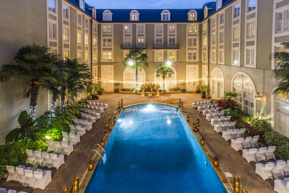 Outdoor Pool, Bourbon Orleans Hotel