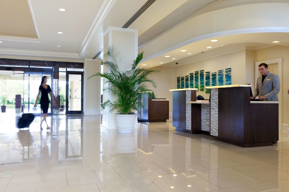 Lobby, Marriott Sanibel Harbour Resort & Spa