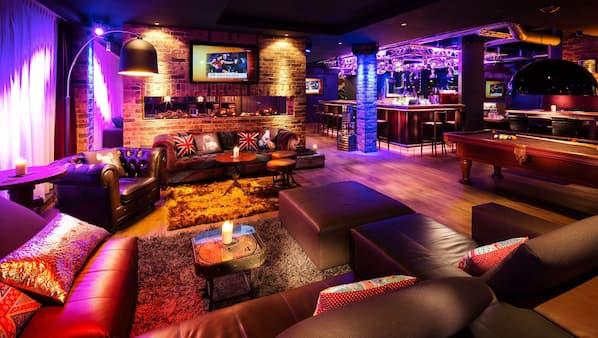Loungebar in de lobby