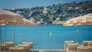Private beach nearby, sun-loungers, beach towels