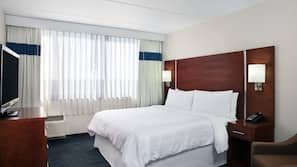 Premium bedding, down comforters, in-room safe, individually furnished