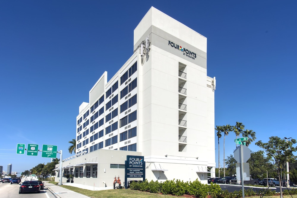 Exterior, Four Points by Sheraton Fort Lauderdale Airport/Cruise Port