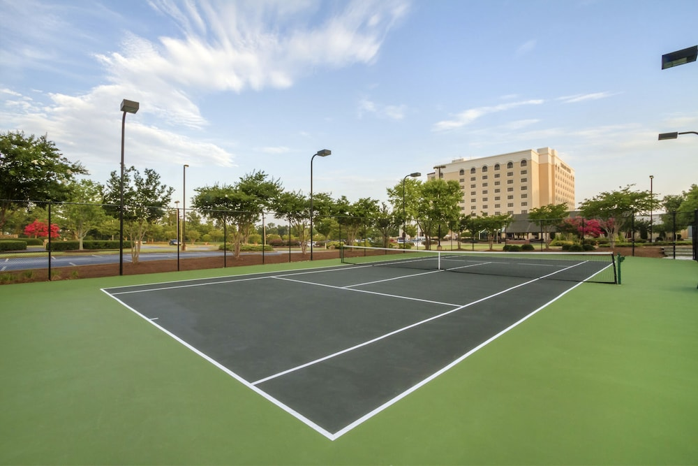 Tennis Court, Embassy Suites Greenville Golf Resort & Conference Center
