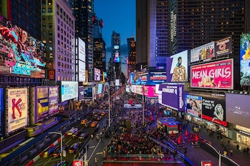 Two Times Square, 714 Seventh Avenue at W. 48th Street, New York 10036, United States.