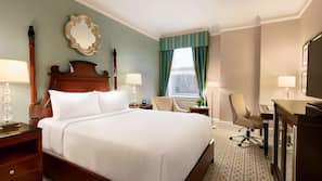 Premium bedding, pillow-top beds, minibar, in-room safe