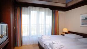 Ropa de cama hipoalergénica, caja fuerte, mobiliario individual