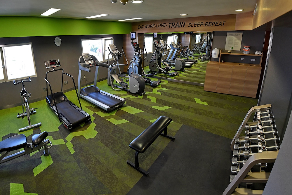 Fitness Facility, Courtyard by Marriott Mexico City Revolucion
