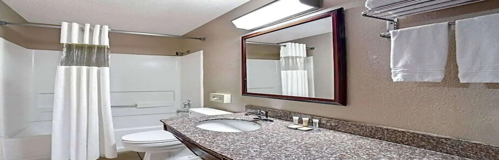 Bathroom, Airport Inn