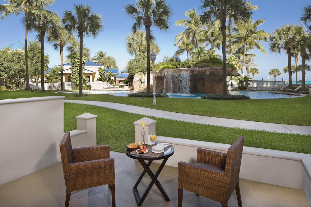Terrace/Patio, Melia Nassau Beach - All Inclusive