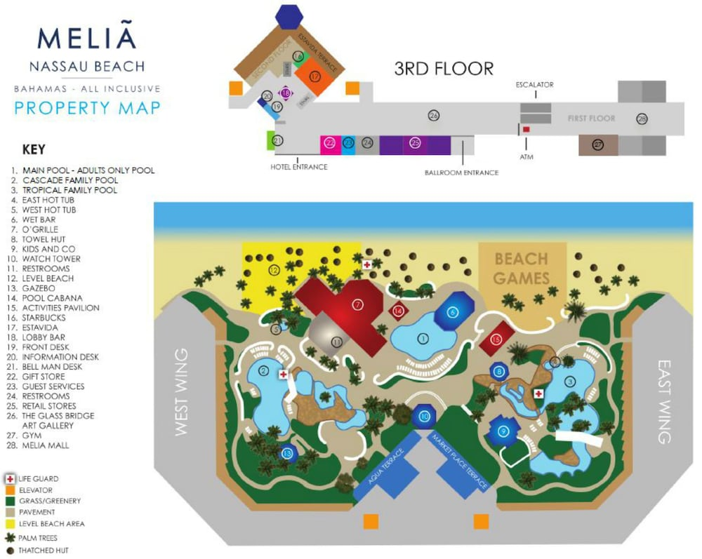 Property Grounds, Melia Nassau Beach - All Inclusive