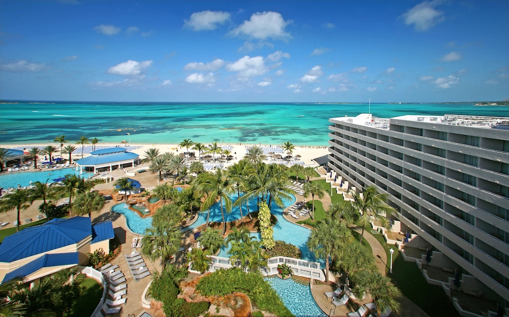 Aerial View, Melia Nassau Beach - All Inclusive