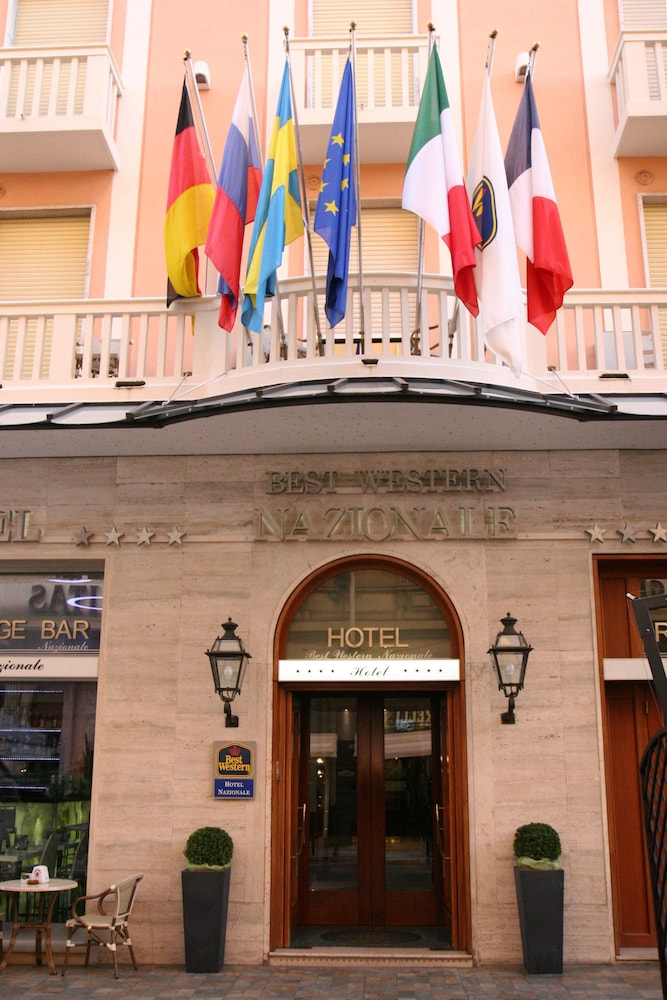 Property Entrance, Best Western Hotel Nazionale