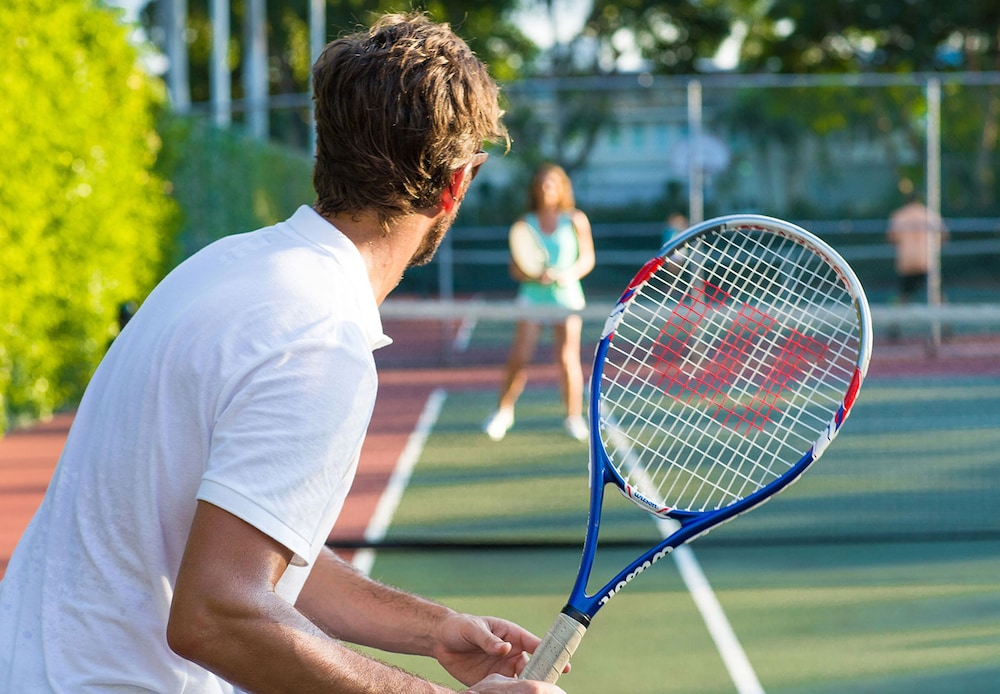Tennis Court, Sandals Royal Bahamian - ALL INCLUSIVE Couples Only