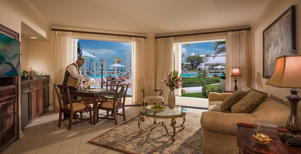 Living Area, Sandals Royal Bahamian - ALL INCLUSIVE Couples Only