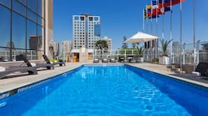 Outdoor pool, open 8:00 AM to 7:30 PM, pool cabanas (surcharge)