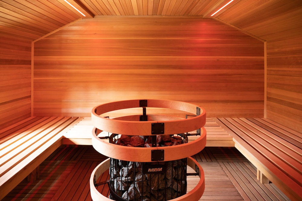 Sauna, Hidden Ridge Resort