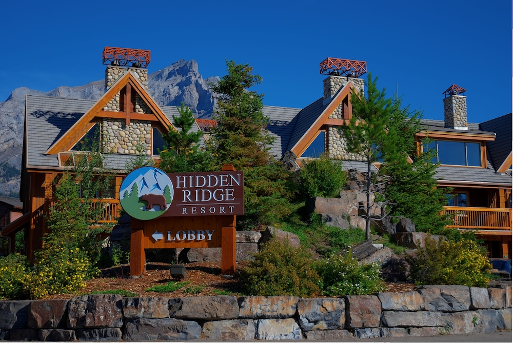 Front of Property, Hidden Ridge Resort