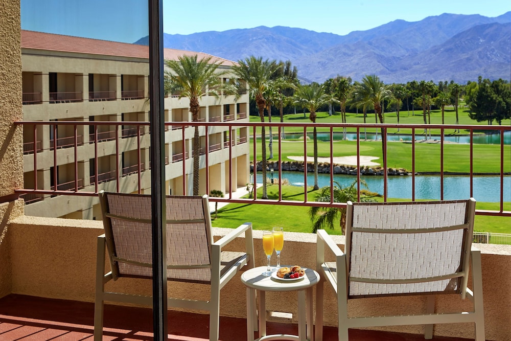 View from Room, DoubleTree by Hilton Hotel Golf Resort Palm Springs