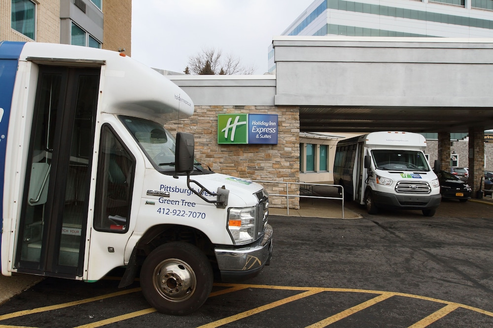Airport Shuttle, Holiday Inn Express & Suites Pittsburgh West - Greentree