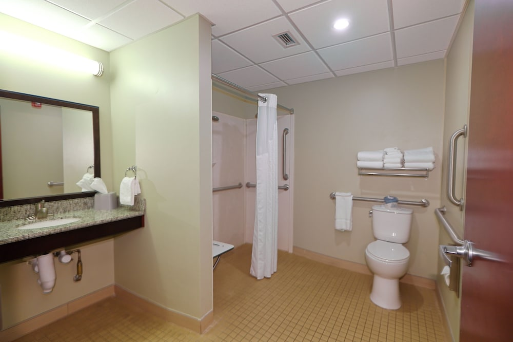 Bathroom, Holiday Inn Express & Suites Pittsburgh West - Greentree