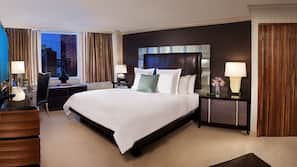 Hypo-allergenic bedding, pillowtop beds, minibar, in-room safe